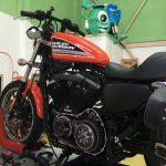 Harley Davidson(ハーレーダビッドソン)に軽量クラッチ取付